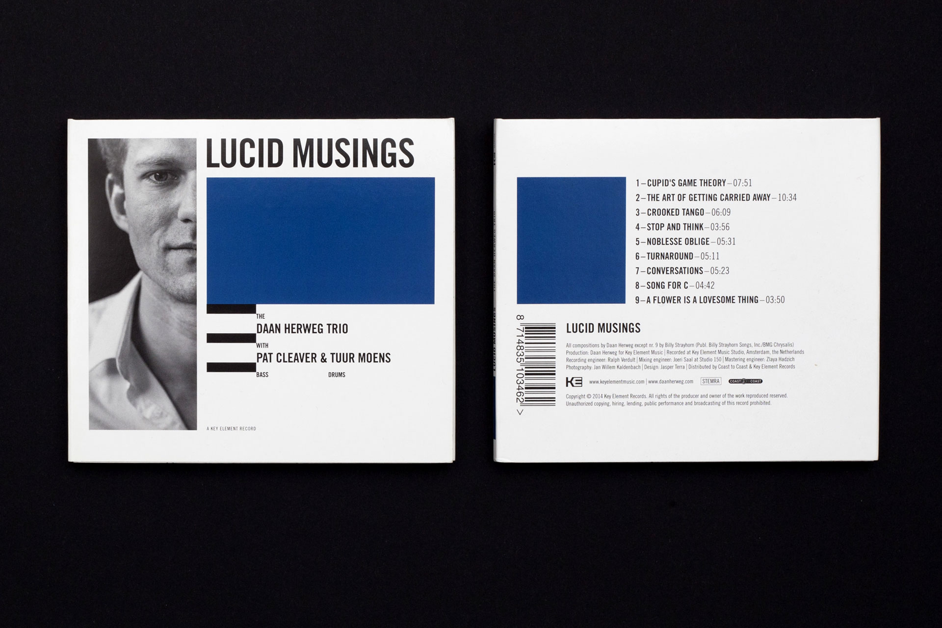 Lucid Musings front and back cover