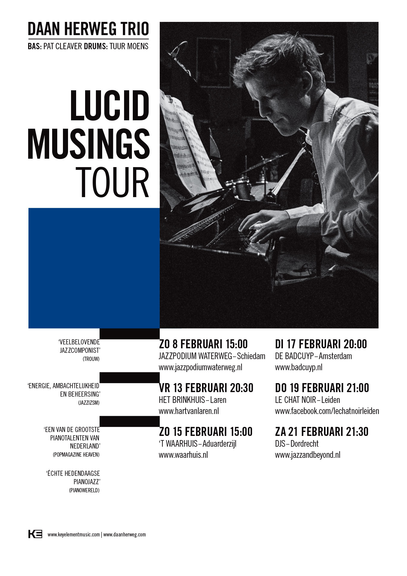 Lucid Musings tour poster